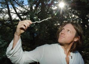 Matt with his magic wand.