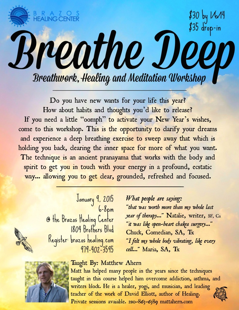 Breathe Deep Flyer For Brazos 1 9 15