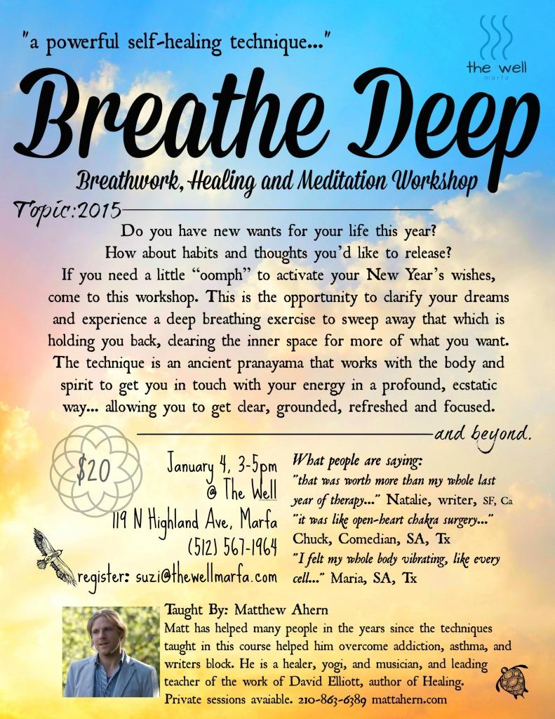 Breathe Deep New Years Flyer well matt ahern 1 4 15final